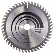 Panza de ferastrau circular Optiline Wood 160 x 20 / 16 mm , 48 dinti