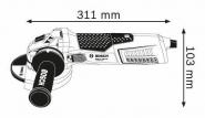 Polizor unghiular GWS 17-125 CIE
