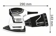 Slefuitor cu vibratii GSS 160-1 A L-BOXX