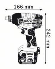 Surubelnita cu impact GDX 14.4 V-LI Solo (fara acumulatori si incarcator)