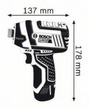 Surubelnita cu impact GDR 10.8-LI x 2 Acumulatori 1.5 Ah