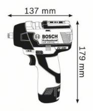Surubelnita cu impact GDS 10.8 V-EC Solo (fara acumulatori si incarcator) in L-BOXX