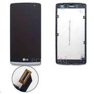 LCD/Display cu touchscreen LG Leon cu rama gri