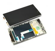 LCD/Display cu touchscreen Sony Xperia Z1 L39H alb