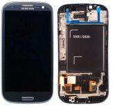 LCD/Display cu touchscreen Samsung i9300i/i9308 i Neo Albastru