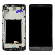 LCD/Display cu touchscreen LG G3 D855 cu rama gri