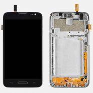 LCD/Display cu touchscreen  LG L70 cu rama negru