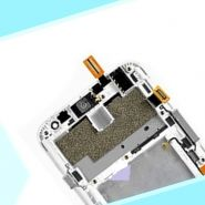 LCD/Display cu touchscreen LG    L70 cu rama alb