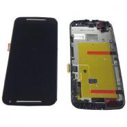 LCD/Display cu touchscreen Motorola Moto G-2 XT1068 cu rama negru
