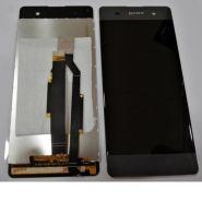 LCD/Display cu touchscreen Sony Xperia XA negru