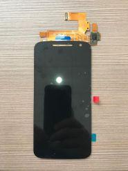 LCD/Display cu touchscreen Lenovo/Motorola Moto G4 negru