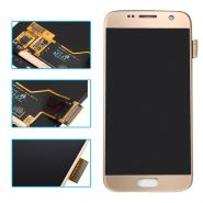 LCD/Display cu touchscreen Samsung S7 G930 auriu
