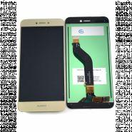 LCD/Display cu touchscreen Huawei P8 Lite 2017 auriu