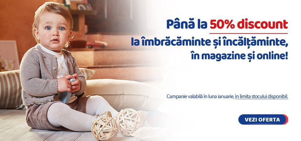 Oferta completa, exclusiv in magazinele Chicco!