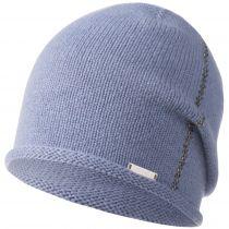 Caciula din lana si cashmir, cu cristale Swarovsky, model Olberg, albastru