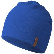 Caciula lana merino, model Gehrenspitze, albastru, unisex