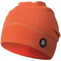 Caciula lana merino, model Hohes Eis, orange