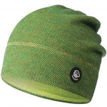 Caciula lana merino, model Hohes Eis, verde