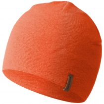 Caciula lana merino, model Gehrenspitze, orange, unisex
