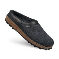 Papuci de casa Chiem, din lana, antracit  37