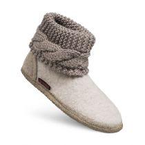 Papuci de casa model Karlsdorf, de dama, din lana 36