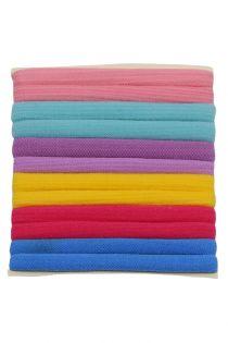 Set 12 elastice pentru par, colorate