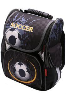 Ghiozdan scoala BROTHERS, rucsac pentru baieti, ergonomic cu pereti rigizi, fotbal sport Z-6-1