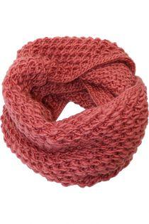 Fular circular,tricotat, pentru femei, din poliester,supradimensionat,toamna iarna, roz, ZR-9-1