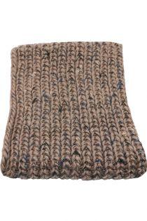 Fular circular,tricotat, pentru femei, din poliester,supradimensionat,toamna iarna, gri, ZR-10-2