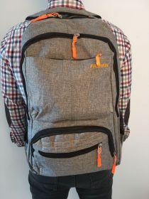 Rucsac din material textil Fashion Gri Z-38-2