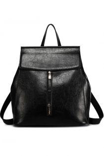 Rucsac negru pentru dama, din piele ecologica E6833BK Negru