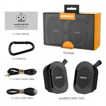 Boxe wireless portabile cu tehnologie True Wireless Stereo