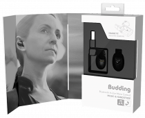 Casca bluetooth in-ear cu dock de incarcare magnetic cu port USB