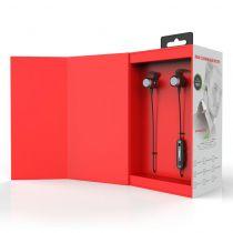 Casti bluetooth cu amplificare de semnal Hearing system AMP Sound negru/rosu