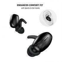 Casti bluetooth V5.0 cu tehnologie True Wireless