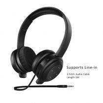 Casti wireless over-the-ear pliabile cu bluetooth 4.1