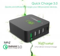Dock de incarcare cu multi-USB si QualComm Quick Charger 3.0