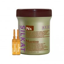 SILKAT NUTRITIVO N4 – Ser mineralizant restructurant cu seminte de in 12 fiole x 10 ml