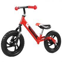 Bicicleta fara pedale (pedagogica) Forever Balance Bike, scaun reglabil, Rosu