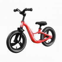 Bicicleta fara pedale (pedagogica) Montasen Balance Bike, scaun reglabil, Rosu
