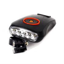 Far lanterna  RT-420010, 5 leduri, alimentare cu baterii