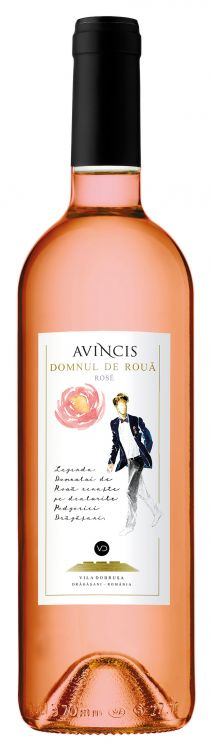AVINCIS - DOMNUL DE ROUA ROSE 2017 (6 STICLE)
