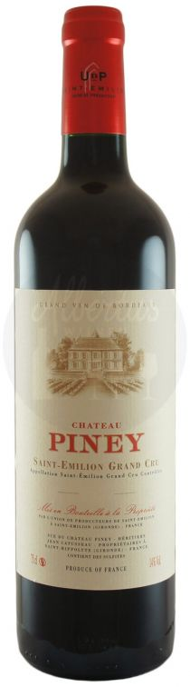 CHATEAU PINEY SAINT-EMILION AC GRAND CRU 2012