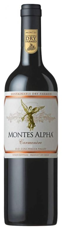 MONTES ALPHA CARMENERE 2014