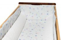 Set perne colțar pentru pătuț /poziționator bebe