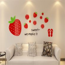 Sticker acrilic 3D Strawberry 67x160cm