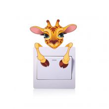 Sticker intrerupator girafa 9 x 10 cm