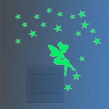 Sticker intrerupator Glow in the Dark Fairy