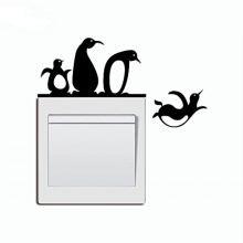 Sticker intrerupator Pinguini