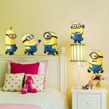 Sticker perete Despicable Me - Minion 55 x 55 cm